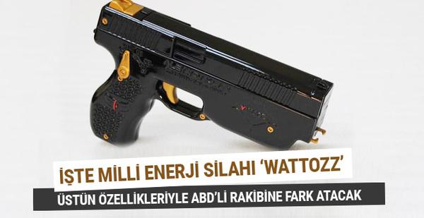 İşte ilk yerli silah 'Wattozz' tüm rakiplerine fark atacak!