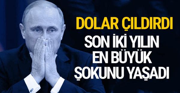 Rus rublesi dolar karşısında eridi 2016'dan beri en düşük seviye