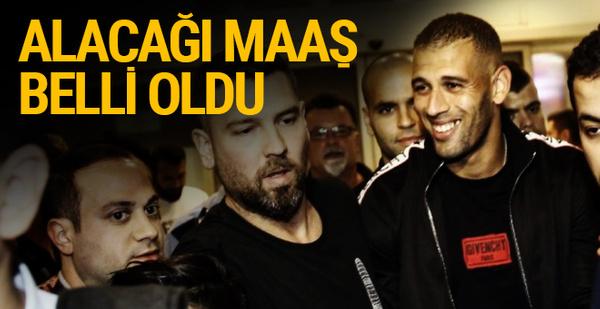 Fenerbahçe'de İslam Slimani alacağı maaş belli oldu