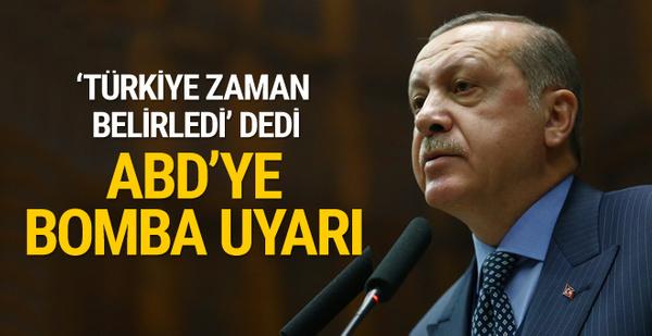 Erdoğan ABD'yi uyardı: Yeni dost ve müttefikler aramaya başlayacağız