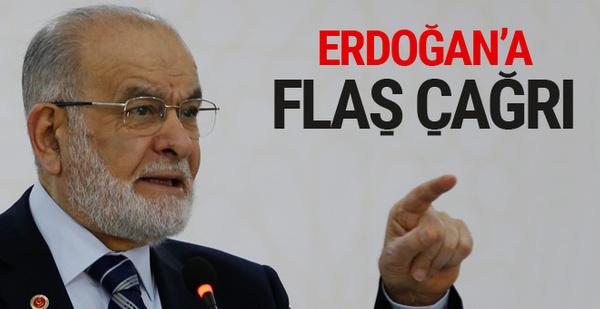 Karamollaoğlu'ndan Erdoğan'a 'liderleri topla' çağrısı