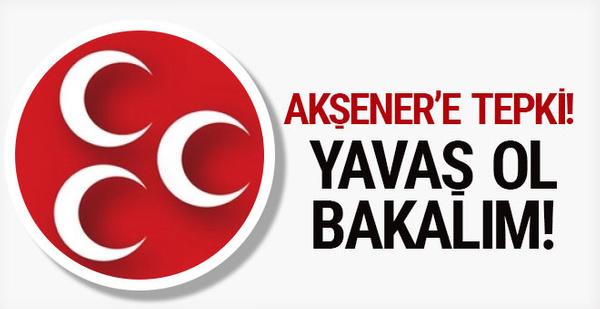 MHP Genel Başkan Yardımcısı Semih Yalçın'dan Meral Akşener'e: Yavaş ol bakalım!