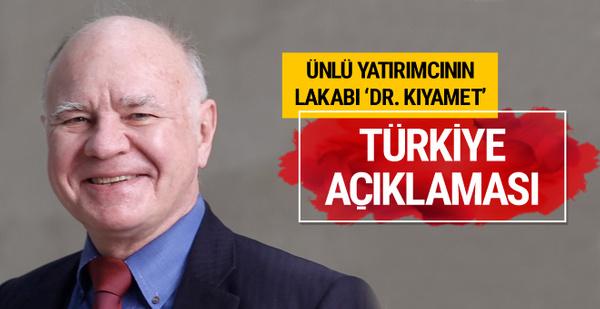'Dr. Kıyamet' Marc Faber'den Türkiye açıklaması