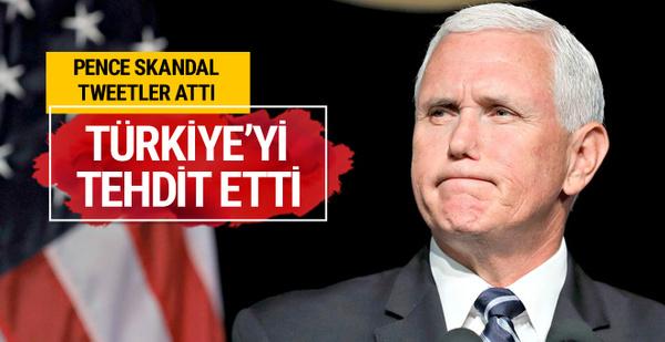 Mike Pence yine tehdit etti Türkiye test etmese iyi eder