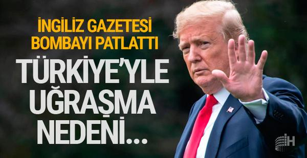 Financial Times gazetesi'nden bomba Trump iddiası! Türkiye'ye...