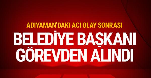 Adıyaman'da 4 şehit sonrası Belediye Başkanı Hüseyin Yuka görevden alındı