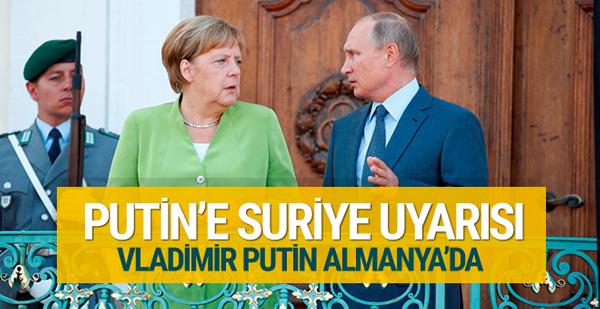 Merkel'den Putin'e İdlib uyarısı