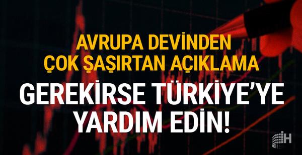 Almanya'dan şaşırtan açıklama! Gerekirse Türkiye'ye yardım edin!