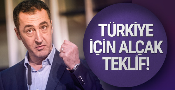 Cem Özdemir'den Türkiye'yle ilgili alçak teklif!