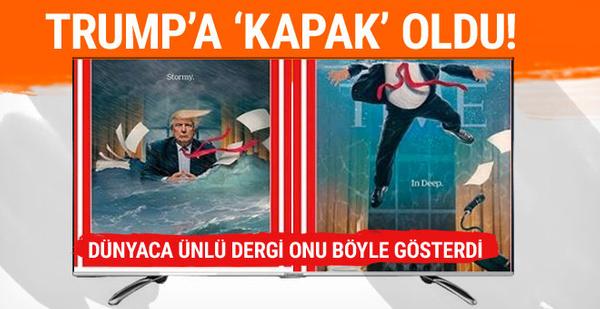 Dünyaca ünlü dergiden Trump'a 'kapak'