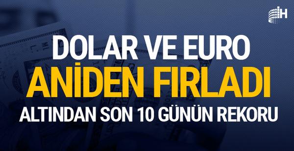 Dolar saat 12.00'da 6.15'i devirdi Euro da 7.15'i geçti neden yükseliyor?