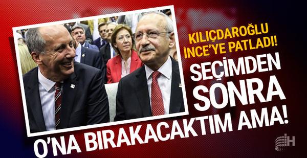 Kılıçdaroğlu'ndan bomba Muharrem İnce sözleri! Ona bırakacaktım ama...