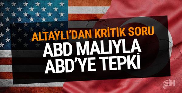 ABD malı ile ABD'ye tepki! Fatih Altaylı yazdı