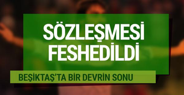 Beşiktaş Veli Kavlak'ın sözleşmesini feshetti