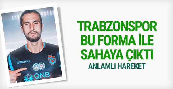 Trabzonspor bu forma ile yola çıktı