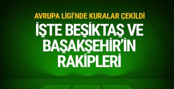 Beşiktaş ve Başakşehir'in play-off'taki muhtemel rakipleri!