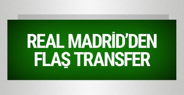 Real Madrid bir flaş transfere daha imza attı