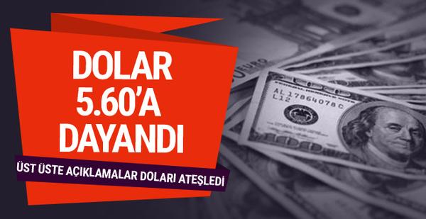 Dolar/TL 5.50'yi geçti euro 6.36 oldu! Çeyrek uçtu borsa coştu