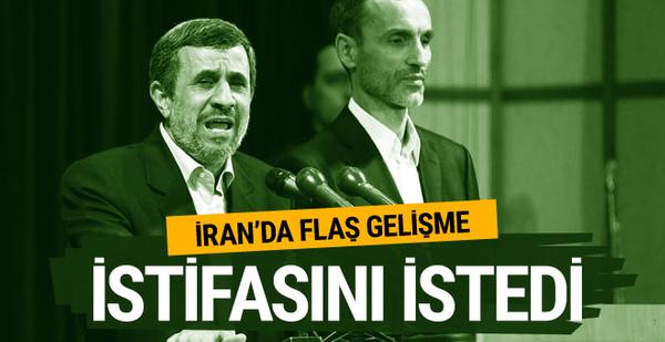 İran'da sıcak gelişme Ahmedinejad istifasını istedi