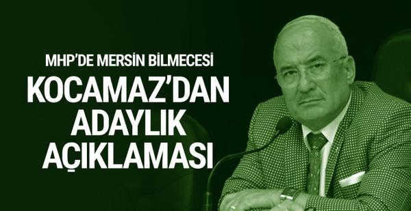 MHP'li Kocamaz'dan adaylık açıklaması
