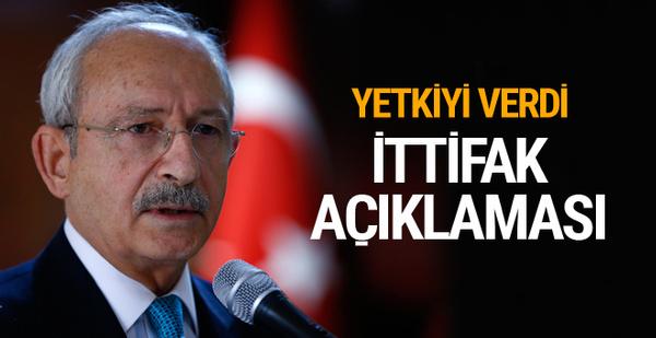 Kılıçdaroğlu seçim ittifakında yetkiyi onlara verdi