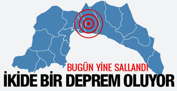 Son deprem Antalya'da! Antalya kaç şiddetinde sallandı?