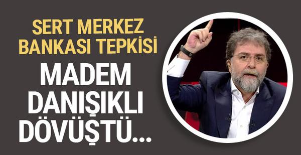 Ahmet Hakan'dan Merkez Bankası tepkisi! Şimdi susun ve...