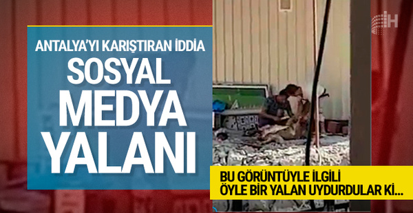 Antalya'ya karıştıran iddiaya yalanlama