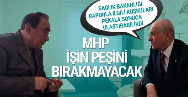 MHP'den Sağlık Bakanlığına sert gönderme