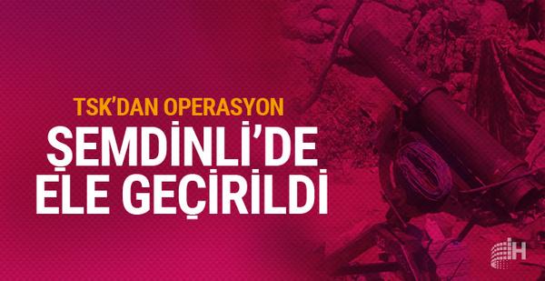PKK mağarasında ÇNRA namlusu bulundu