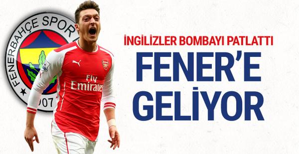 İngilizler bombayı patlattı: Mesut Fenerbahçe'ye gidebilir