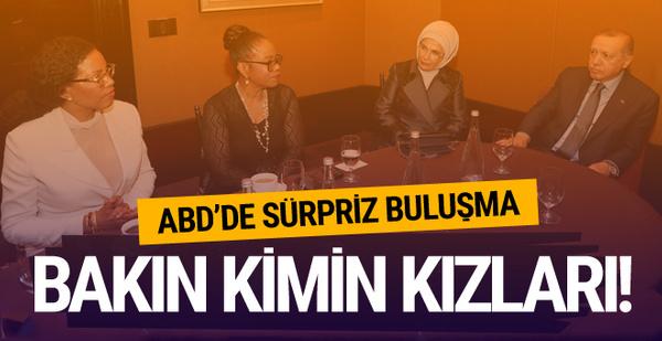 Erdoğan'dan ABD'de dikkat çeken görüşme!