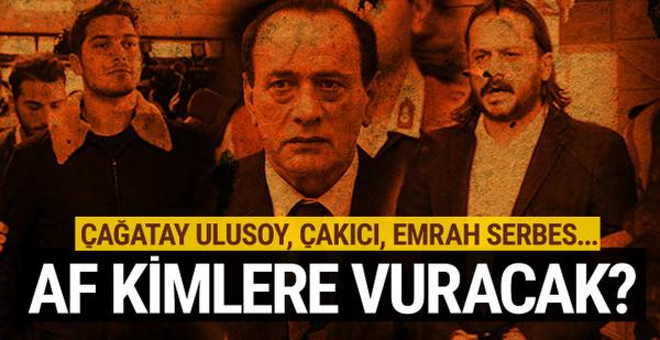 Af kimlere vuracak? Emrah Serbes, Çakıcı, Çağatay Ulusoy...