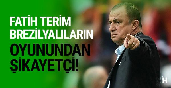 Fatih Terim Galatasaray'ın Brezilyalılarından memnun değil!