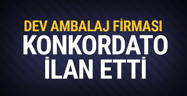 Borsa İstanbul'da işlem gören şirket konkordato ilan etti