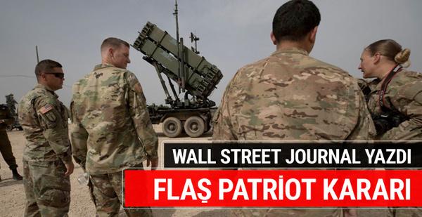 WSJ: ABD, 3 Ortadoğu ülkesinden Patriot sistemlerini çekiyor 81