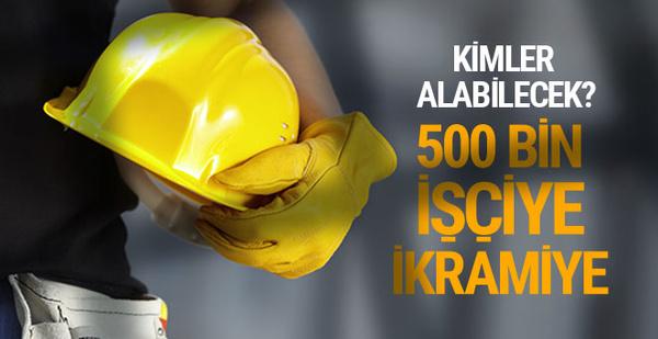 500 bin işçiye 3 bin lira ikramiye! Ne zaman ödenecek?