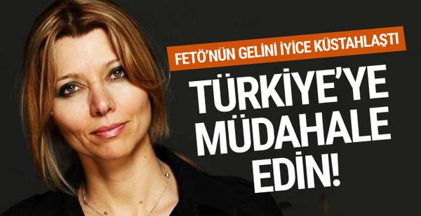 Elif Şafak'tan küstah sözler! Türkiye'ye müdahale edin