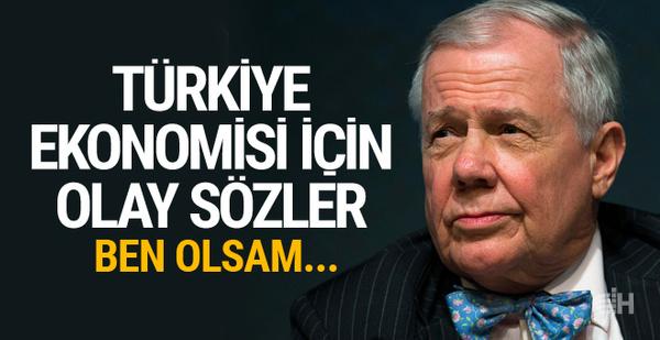 ABD'li yatırımcıdan Türkiye ekonomisi için olay sözler!