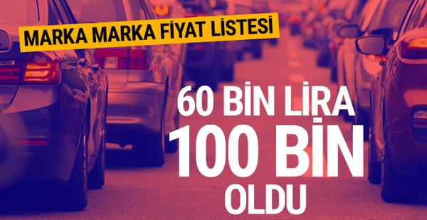 Otomobil alacaklara kötü haber 60 bin liralık araç 100 bin lira
