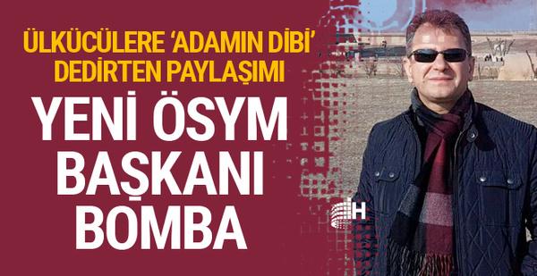 Yeni ÖSYM Başkanı Prof. Dr. Halis Aygün bomba! Türkeş paylaşımı ve...