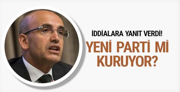 Mehmet Şimşek parti mi kuruyor olay iddiaya yanıt geldi!
