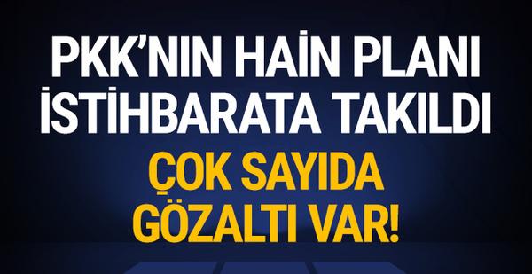 PKK'nın şehir yapılanmasına operasyon! 23 gözaltı