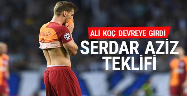 Fenerbahçe Serdar Aziz için son teklifini yaptı