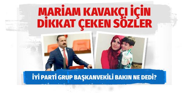 Mariam Kavakçı'ya linç İYİ Partili vekili isyan ettirdi