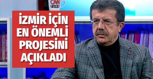 Nihat Zeybekci en önemli projesini açıkladı