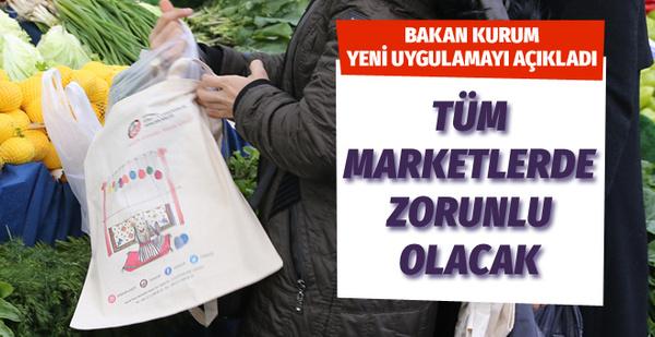 Murat Kurum yeni uygulamayı açıkladı: Tüm marketlerde zorunlu hale getiriyoruz