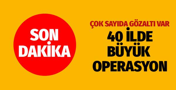 İstanbul merkezli 40 ilde bahis sitelerine yönelik operasyon ile ilgili görsel sonucu