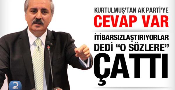 Kurtulmuş'tan AK Parti'ye cevap!