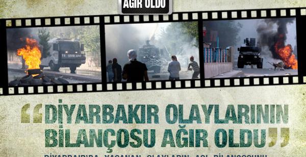 İşte Diyarbakır olaylarını resmi bilançosu